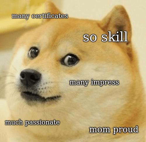 So skill